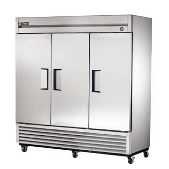 TRUT72F - True - T-72F - T-Series 3 Door Reach In Freezer Product Image
