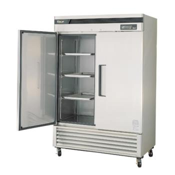 TURTSF49SD - Turbo Air - TSF-49SD - Super Deluxe 2 Door Reach-In Freezer Product Image