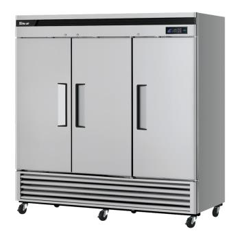 TURTSF72SDN - Turbo Air - TSF-72SD-N - Super Deluxe 3-Door Reach-In Freezer Product Image
