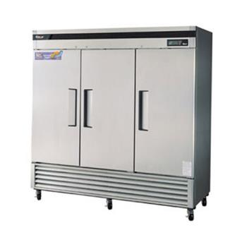 TURTSF72SD - Turbo Air - TSF-72SD - Super Deluxe 3 Door Reach-In Freezer Product Image