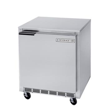 BEVUCF27A23 - Beverage Air - UCF27A-23 - 27 in 1 Door Undercounter Freezer with 3 in Casters Product Image