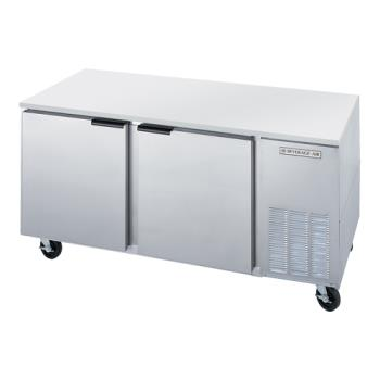 BEVUCF67A - Beverage Air - UCF67A - 67 in 2 Door Undercounter Freezer Product Image