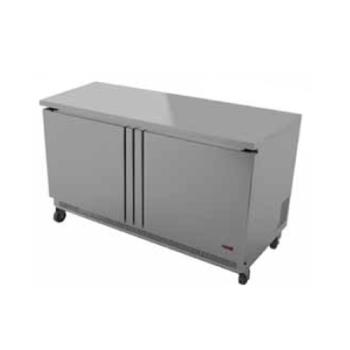 FGAFUF60 - Fagor - FUF-60 - 60 in 2 Door Undercounter Freezer Product Image