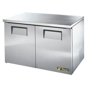 "TRUTUC48FLP - True - TUC-48F-LP-HC - Low Profile 2 Door 48"" Undercounter Freezer Product Image"