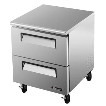 TURTUF28SDD2 - Turbo Air - TUF-28SD-D2 - 28 in 2 Drawer Undercounter Freezer Product Image