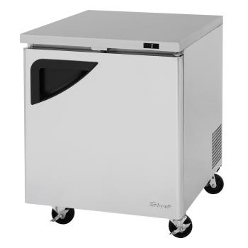 TURTUF28SDN - Turbo Air - TUF-28SD-N - 28 in 1 Door Super Deluxe Undercounter Freezer Product Image