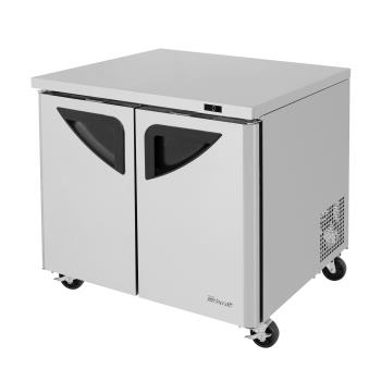 TURTUF36SDN - Turbo Air - TUF-36SD-N - 36 in Super Deluxe Undercounter Freezer Product Image