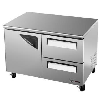 TURTUF48SDD2 - Turbo Air - TUF-48SD-D2 - 48 in 2 Drawer Undercounter Freezer Product Image