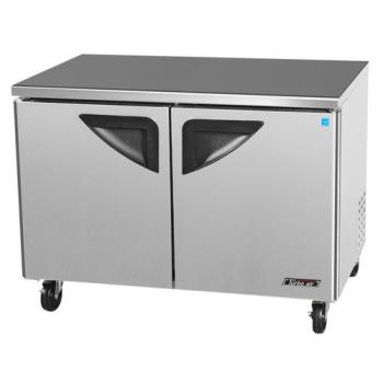 TURTUF48SD - Turbo Air - TUF-48SD - Super Deluxe 2 Door 48 Undercounter Freezer Product Image