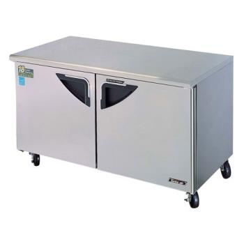 TURTUF60SD - Turbo Air - TUF-60SD - Super Deluxe 2 Door 60 in Undercounter Freezer Product Image