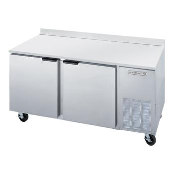 BEVWTF67A - Beverage Air - WTF67A - 67 in 2 Door Worktop Freezer Product Image