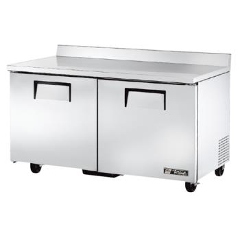 "TRUTWT60F - True - TWT-60F - 2 Door 60"" Worktop Freezer Product Image"