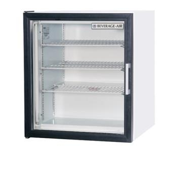 BEVCF31W - Beverage Air - CF3-1-W - 23 in Glass Door Countertop Freezer Product Image