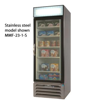 BEVMMF271BLED - Beverage Air - MMF27-1-B-LED - 30 in MarketMax™ Frozen Merchandiser with LED Product Image