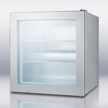 SUMSCFU386 - Summit - SCFU386 - Glass Door Compact Display Freezer Product Image