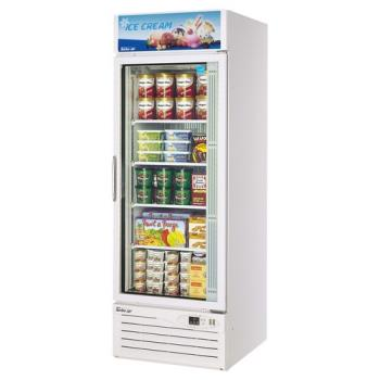 TURTGF23F - Turbo Air - TGF-23F - Glass Door Freezer w/ 1 Swing Door Product Image