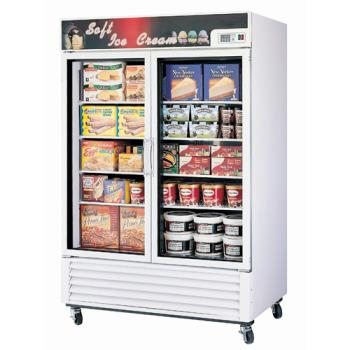 TURTGF49F - Turbo Air - TGF-49F - Glass Door Freezer w/ 2 Swing Doors Product Image