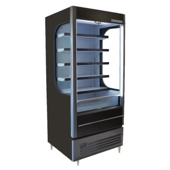 BEVVM121BLED - Beverage Air - VM12-1-B-LED - 35 in Vuemax™ Open-Air Merchandiser Product Image