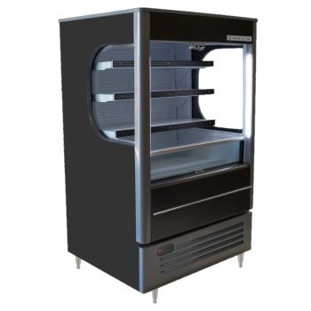 BEVVM71BLED - Beverage Air - VM7-1-B-LED - Vuemax™ Open-Air Merchandiser Product Image
