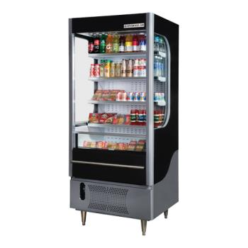 BEVVM71B - Beverage Air - VM7-1-B - Vuemax™ Open-Air Merchandiser Product Image