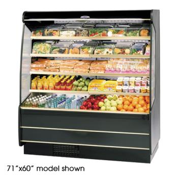 "FEDRSSM560SC - Federal - RSSM-560SC - 59"" x 60"" High Profile Refrigerated Merchandiser Product Image"