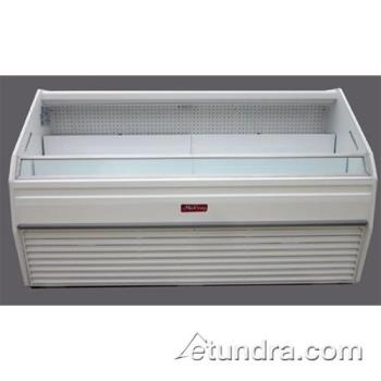"HWDS32E3 - Howard McCray - S32E-3 - 38"" x 44"" White Open Merchandiser Product Image"