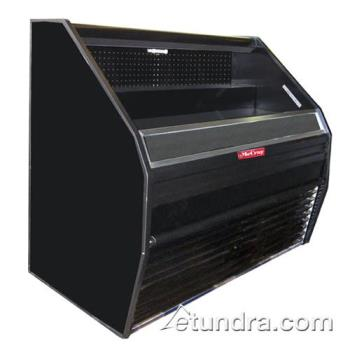"HWDS32E4B - Howard McCray - S32E-4B - 50"" x 44"" Black Open Merchandiser Product Image"