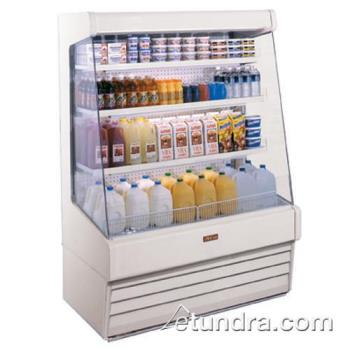 "HWDSCOD30E6LS - Howard McCray - SC-OD30E-6-LS - 75"" x 72"" White Dairy Merchandiser Product Image"