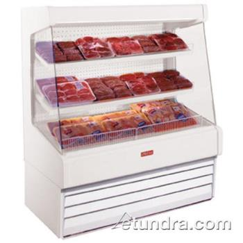 "HWDSCOM30E6LS - Howard McCray - SC-OM30E-6-LS - 75"" x 72"" White Meat Merchandiser Product Image"