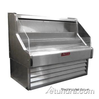 "HWDSCOS30E6 - Howard McCray - SC-OS30E-6-W - Ovation White 75"" Open Merchandiser Product Image"