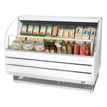 TURTOM60SW - Turbo Air - TOM-60S - 60 in White Slim Line Open Display Merchandiser Product Image