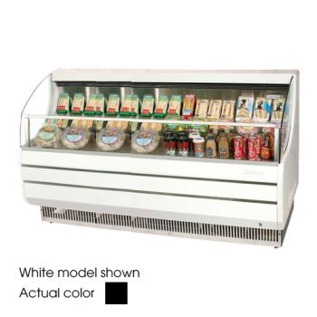 TURTOM75SB - Turbo Air - TOM-75SB - 75 in Black Slim Line Open Display Merchandiser Product Image