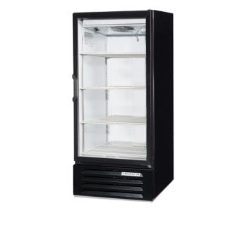BEVLV101BLED - Beverage Air - LV10-1-B-LED - 24 in Lumavue™  Merchandiser with LED & Hinged Doors Product Image