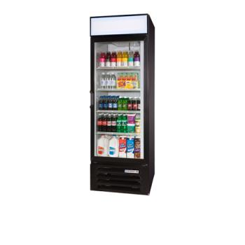 BEVLV231B - Beverage Air - LV23-1-B - 27 in Lumavue™ Merchandiser with Hinged Doors Product Image