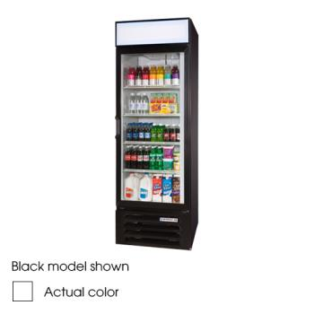 BEVLV231WLED - Beverage Air - LV23-1-W-LED - 27 in Lumavue™ Merchandiser with LED & Hinged Doors Product Image