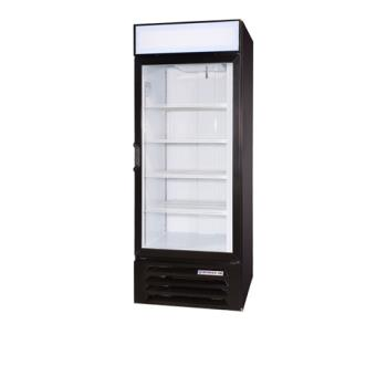 BEVLV271BLED - Beverage Air - LV27-1-B-LED - 30 in Lumavue™ Merchandiser with LED & Hinged Doors Product Image