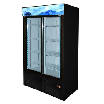 FGAFMD35SD - Fagor - FMD-35-SD - 43 in Refrigerated Merchandiser with 2 Sliding Doors Product Image