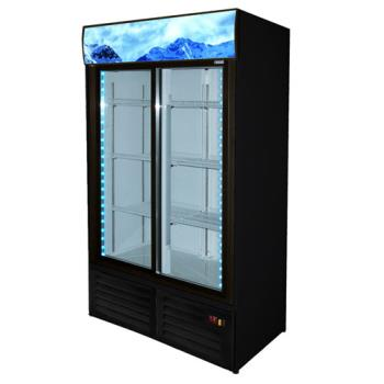 FGAFMD47SD - Fagor - FMD-47-SD - 54 in Refrigerated Merchandiser with 2 Sliding Doors Product Image