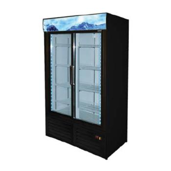 FGAFMD49 - Fagor - FMD-49 - 54 in Refrigerated Merchandiser with 2 Swing Doors Product Image