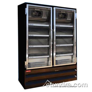 HWDGR48BMB - Howard McCray - GR48BM-B - 48 cu ft Bottom Mount Black Refrigerated Merchandiser Product Image