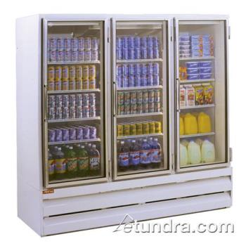 HWDGR75BM - Howard McCray - GR75BM - 75 cu ft Bottom Mount White Refrigerated Merchandiser Product Image