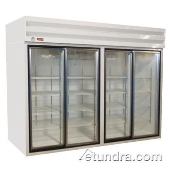 HWDGSR102 - Howard McCray - GSR102 - 102 cu ft Top Mount Refrigerated Merchandiser w/4 Sliding Doors Product Image