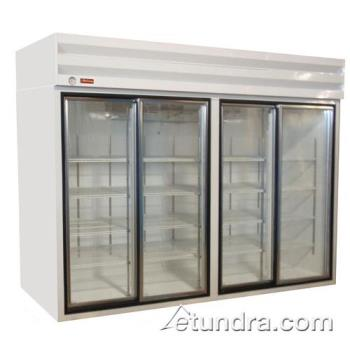 HWDGSR102BM - Howard McCray - GSR102BM - Bottom Mount Refrigerated Merchandiser w/4 Doors Product Image