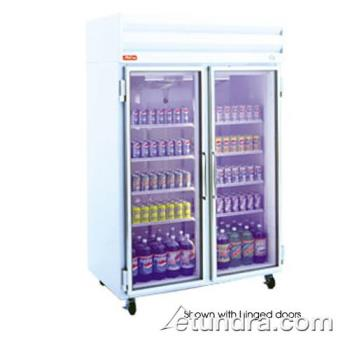 HWDGSR48 - Howard McCray - GSR48 - 48 cu ft Top Mount Refrigerated Merchandiser w/2 Sliding Doors Product Image