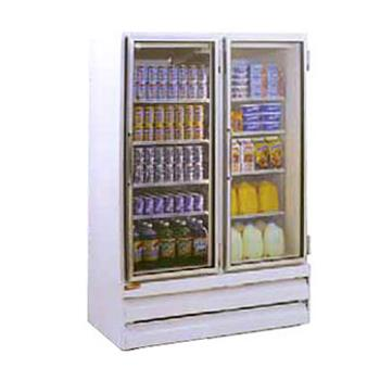 HWDGSR48BM - Howard McCray - GSR48BM - 48 cu ft Bottom Mount Refrigerated Merchandiser w/2 Sliding Doors Product Image