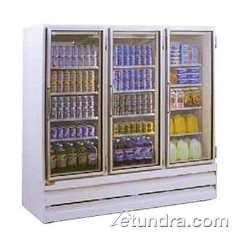 HWDGSR75BM - Howard McCray - GSR75BM - 75 cu ft Bottom Mount Refrigerated Merchandiser w/3 Sliding Doors Product Image