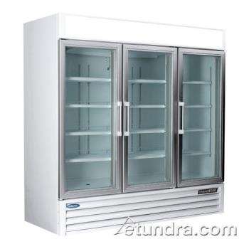 NORNLGR70H - Nor-Lake - NLGR70H-B - AdvantEDGE 3 Door Refrigerated Merchandiser Product Image