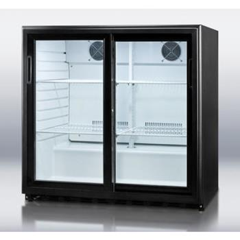 SUMSCR700 - Summit - SCR700 - Sliding Glass Door Beverage Merchandiser Product Image