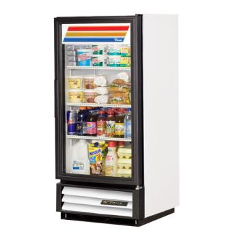 TRUGDM10 - True - GDM-10-HC-LD  - 10 cu ft Refrigerated Merchandiser w/ 1 Swing Door Product Image