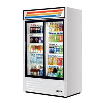 TRUGDM41 - True - GDM-41-HC-LD - 41 cu ft Refrigerated Merchandiser w/ 2 Sliding Doors Product Image